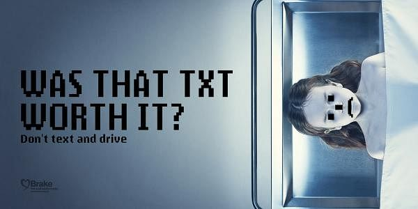 Don't text and drive, 2