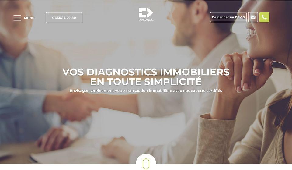 Diagadom - Site internet