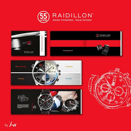 Brochure Raidillon - Design & graphisme