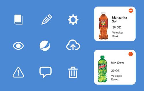 Enterprise UX - Pepsi Beverage Optimizer - Ergonomy (UX/UI)