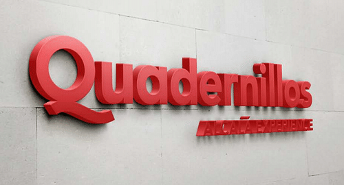 Branding Parque Comercial Quadernillos - Publicidad