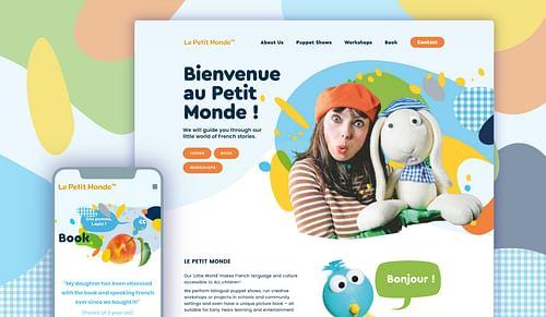 Le Petit Monde Identité visuelle - Création de site internet