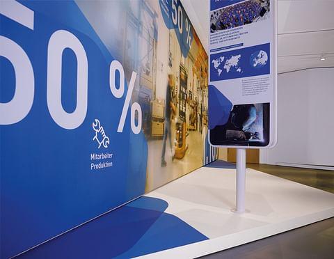 Interaktive Ausstellung zur Mitarbeitergewinnung