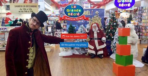 La Grande Récré - Tournée du Père Noël