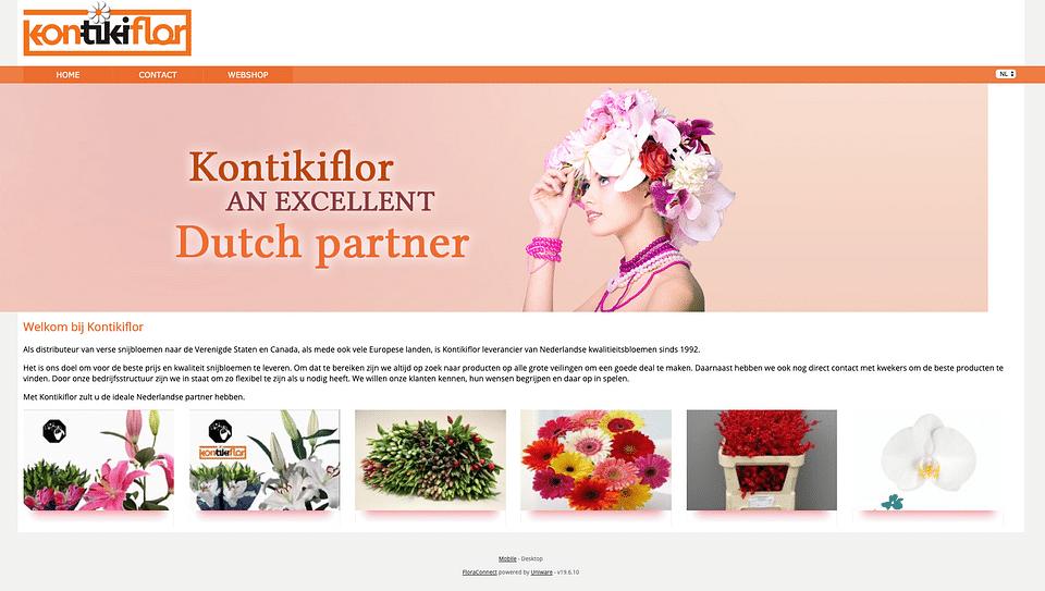 Branding en Design & Website Kontikiflor