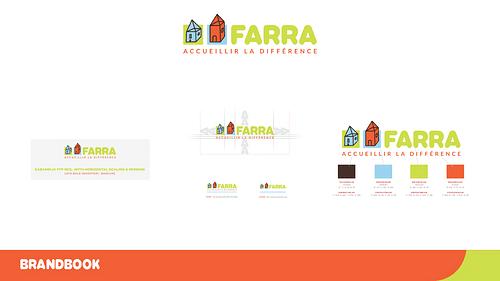 Charte graphique, logo & signalétique pour FARRA - Création de site internet