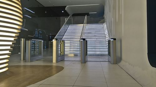 Automation of secure entrance control - Public Relations (PR)
