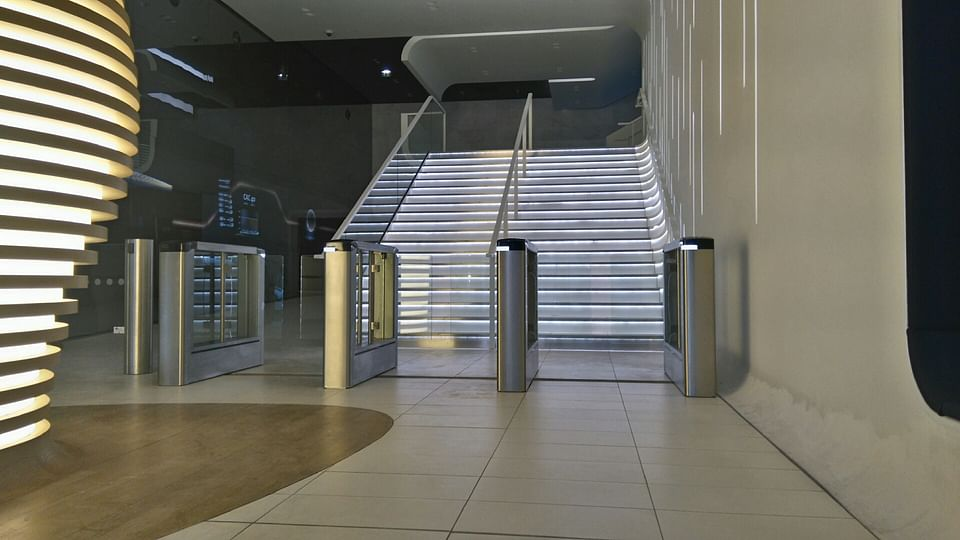 Automation of secure entrance control