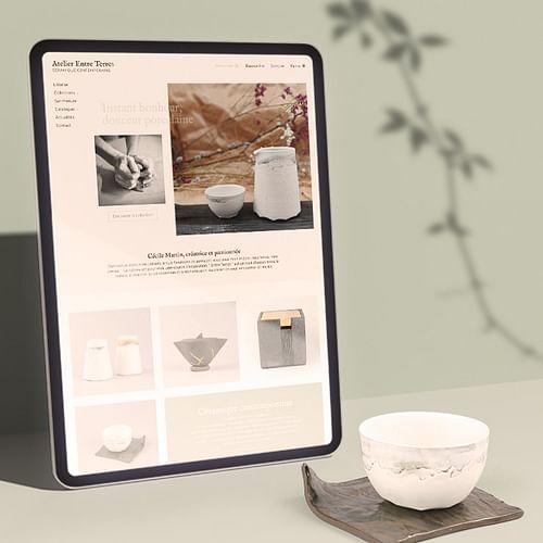 Entre Terres  site e-commerce sous Prestashop - Création de site internet
