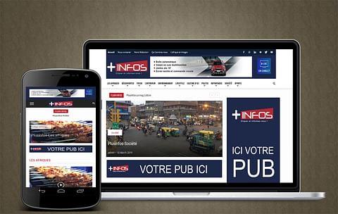 Site d'actualités Africiane