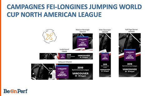 Campagnes FEI-Longines Jumping World Cup - Stratégie digitale