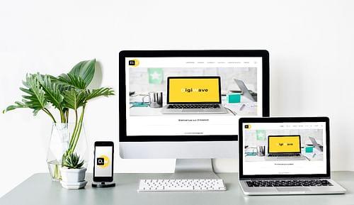 Site blog digital - Création de site internet