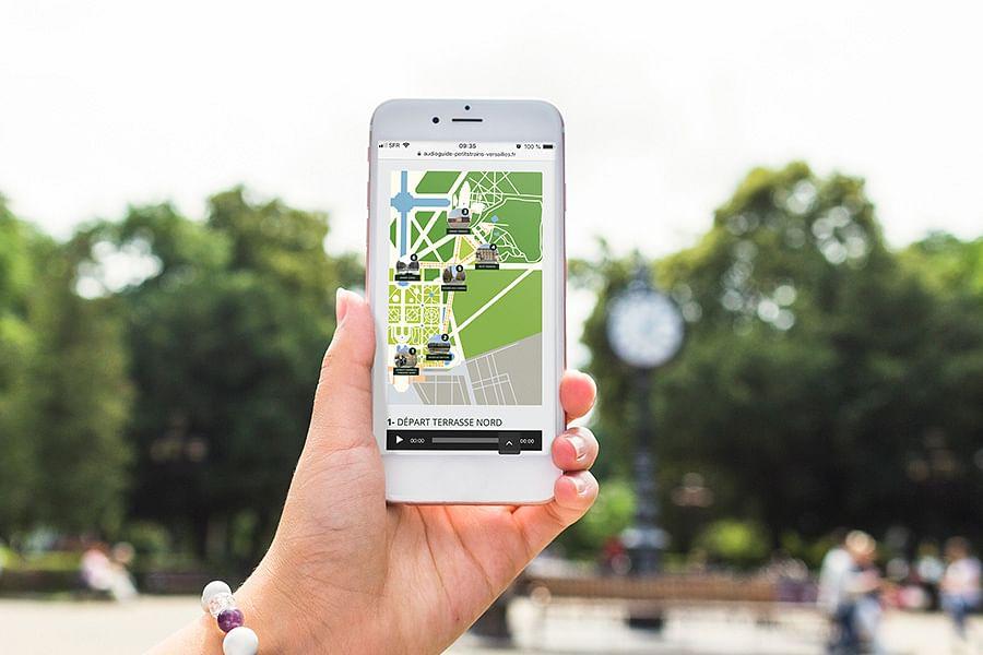 Web mobile pour les Petits Trains de Versailles