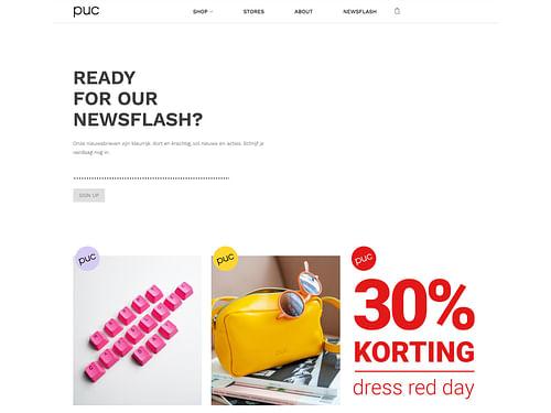 E-commerce website voor retailer - Digital Strategy