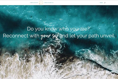 Begin pagina voor groter toekomstig project - Website Creatie
