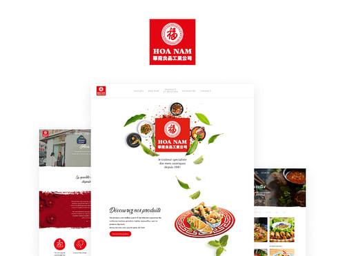Hoa Nam - Refonte site web - Image de marque & branding