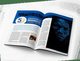 Diseño editorial Medicus Mundi
