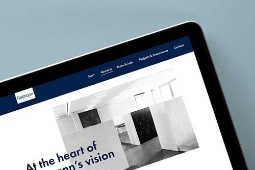 Fielmann Ventures Website - Markenbildung & Positionierung