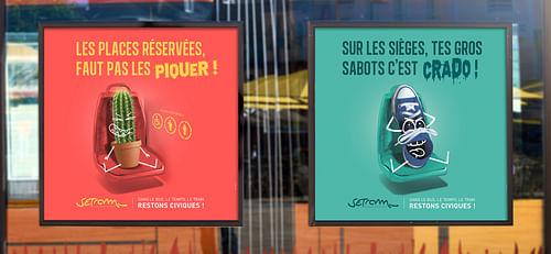 Campagnes annuelles de communication (6 par an) - Design & graphisme