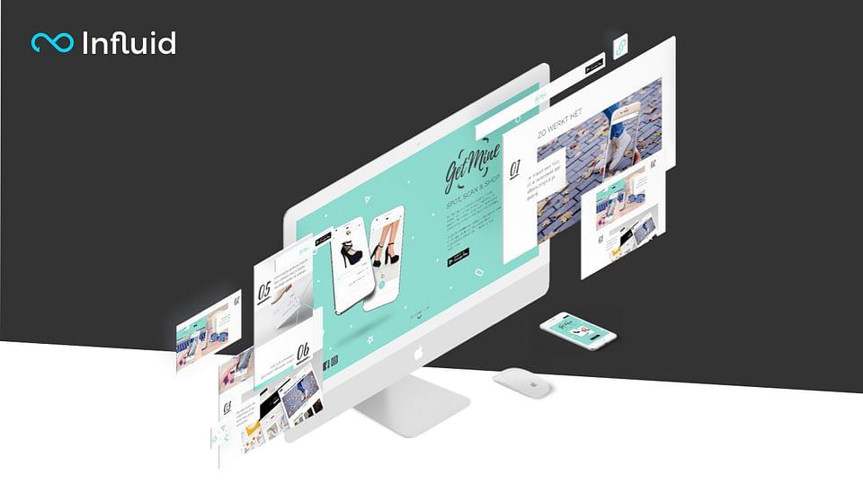 UI/UX for virtual reality shoe application