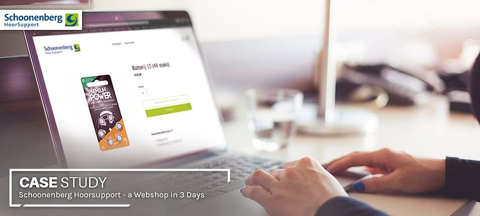 A Webshop in 3 Days