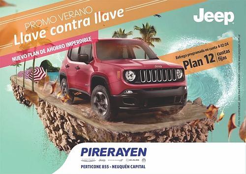 diseño gráfico  jeep - Redes Sociales