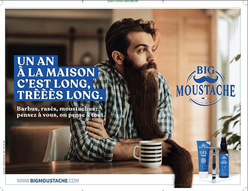 #LaBigCampagne - Big Moustache 2021 - Publicité
