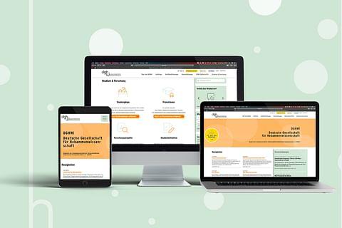 Webdesign und Umsetzung für die DGHWi