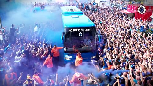 Club Bruges - How to get fans to celebrate dur... - Reclame