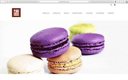 Création d'un site de boulangerie aux USA - E-commerce