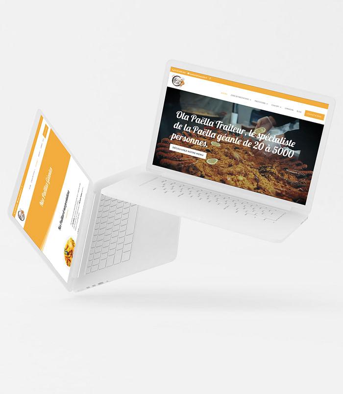 """Création du site """"Ola Paella"""""""