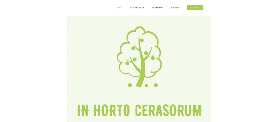 WEBSITE - IN HORTO CERASORUM