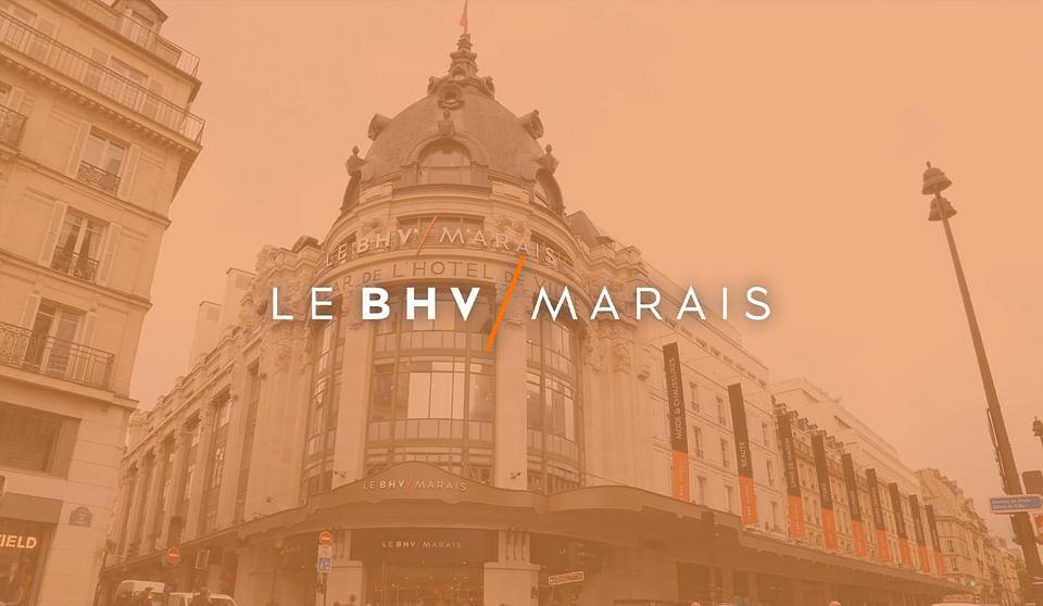BHV / Marais : site e-commerce