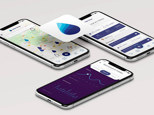 Waterdrop - Application mobile