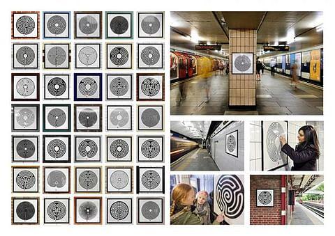 Labyrinth by Mark Wallinger, 2