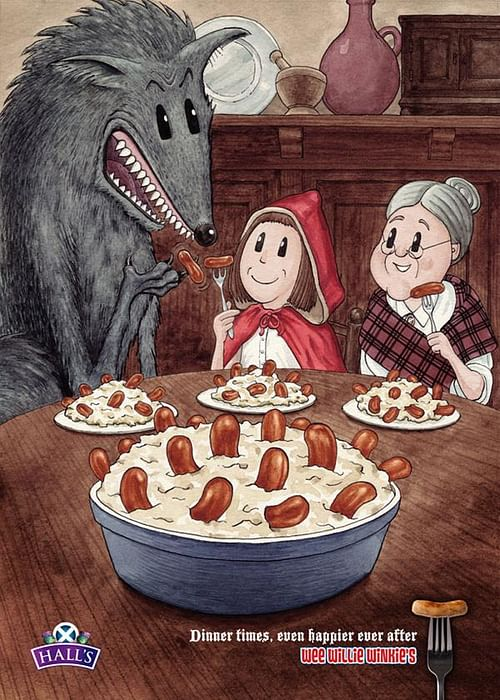 Red Riding Hood - Advertising