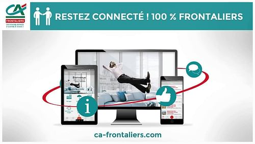 Credit Agricole - CA Frontaliers - Application mobile