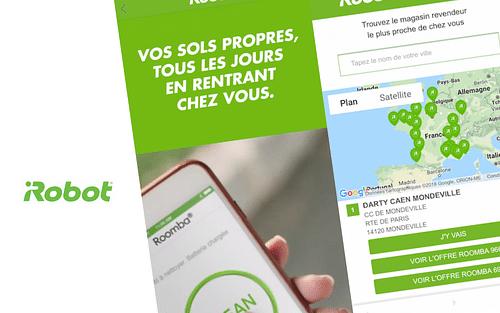 iRobot : Géomarketing Réseaux sociaux - E-commerce