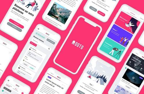 OOTO - Conception UX/UI d'une solution RH - Image de marque & branding