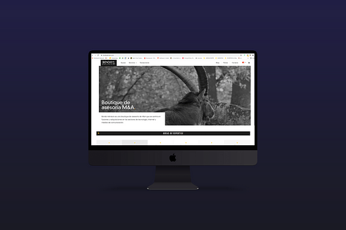 Diseño Web: Bondo Advisors - Estrategia digital
