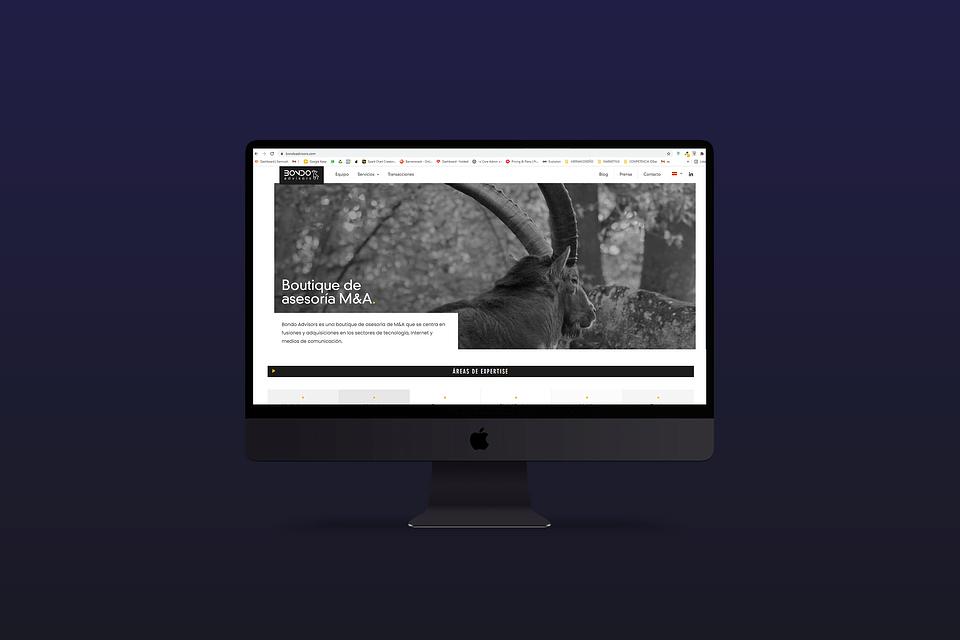 Diseño Web: Bondo Advisors
