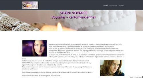 Site internet pour voyantes - Création de site internet
