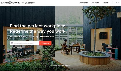 Befimmo website - Web Applicatie