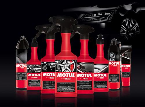 Motul Car Care range - Image de marque & branding