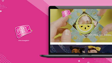 Création e-shop Boxygirls