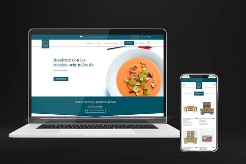 Estrategia online & Website - Conservera de Tarifa - E-commerce