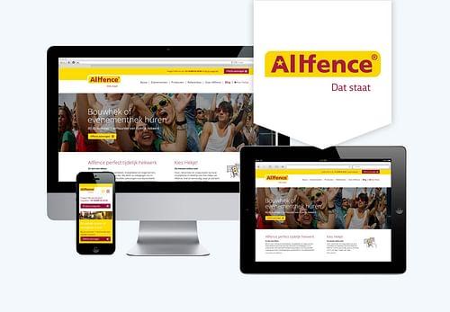 Website en marketing strategie Allfence - Web Applicatie