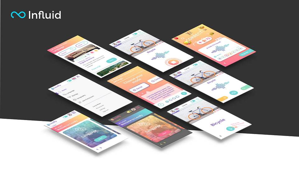 UI/UX for interactive 'speaking' application