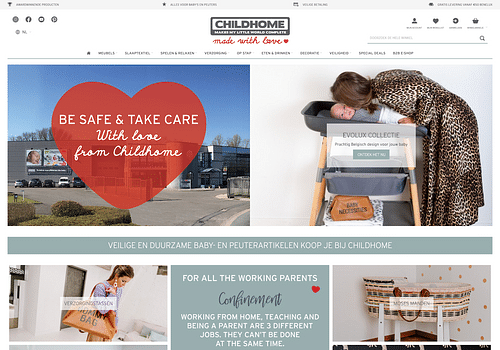Multi-website Magento 2 (Chilhome) - E-commerce