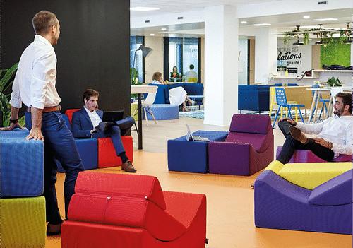 EXTIA | Définir de nouveaux espaces de travail - Innovation